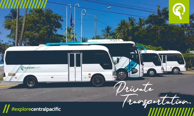 Tucanes Tours Private Shuttles, Busses, Van Transportation Fleet